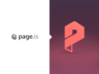 Page.is - Logo Redesign