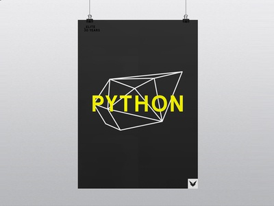 Elite 30 Year - Python elite python poster