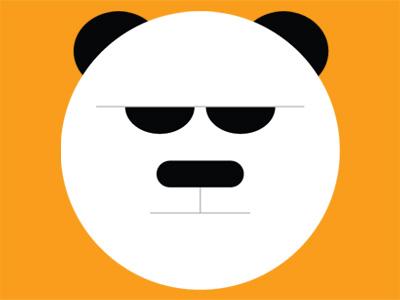 Panda illustration panda vector
