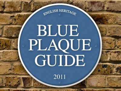 Blue Plaque Guide Icon icon