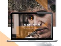 Mindfulness Web design
