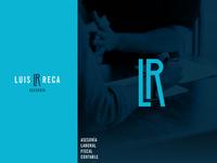 Luis Reca Logo Design