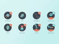 Taskly icons design