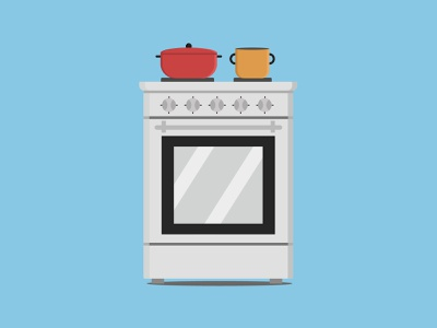 Cooker design flat freelance poster flat design illustrator vector illustration vector adobe illustrator illustration
