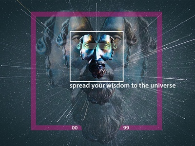 Spread your wisdom to the universe