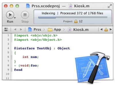 Retina Xcode Mini [FREE PSD]