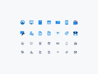 Dashboard icons