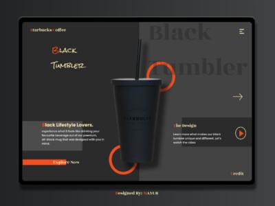 Black Tumbler