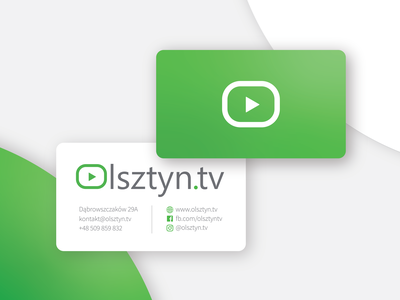 Olsztyn.tv Business Card