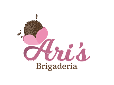 Ari's Brigaderia foodporn marca logomark logotype sweety chocolate brigadeiria brigaderia brigadeiro graphic designer graphic design designer gráfico design gráfico design logotipo logomarca logo design logo
