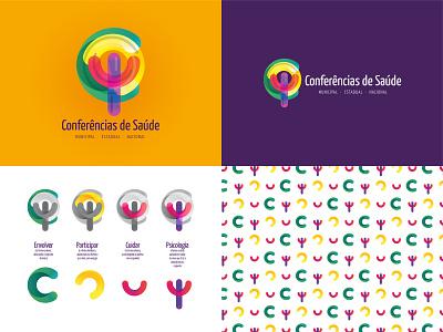 Conferências de Saúde 2015 design logo branding graphic designer designer gráfico psychology psicologia psi graphic design design gráfico