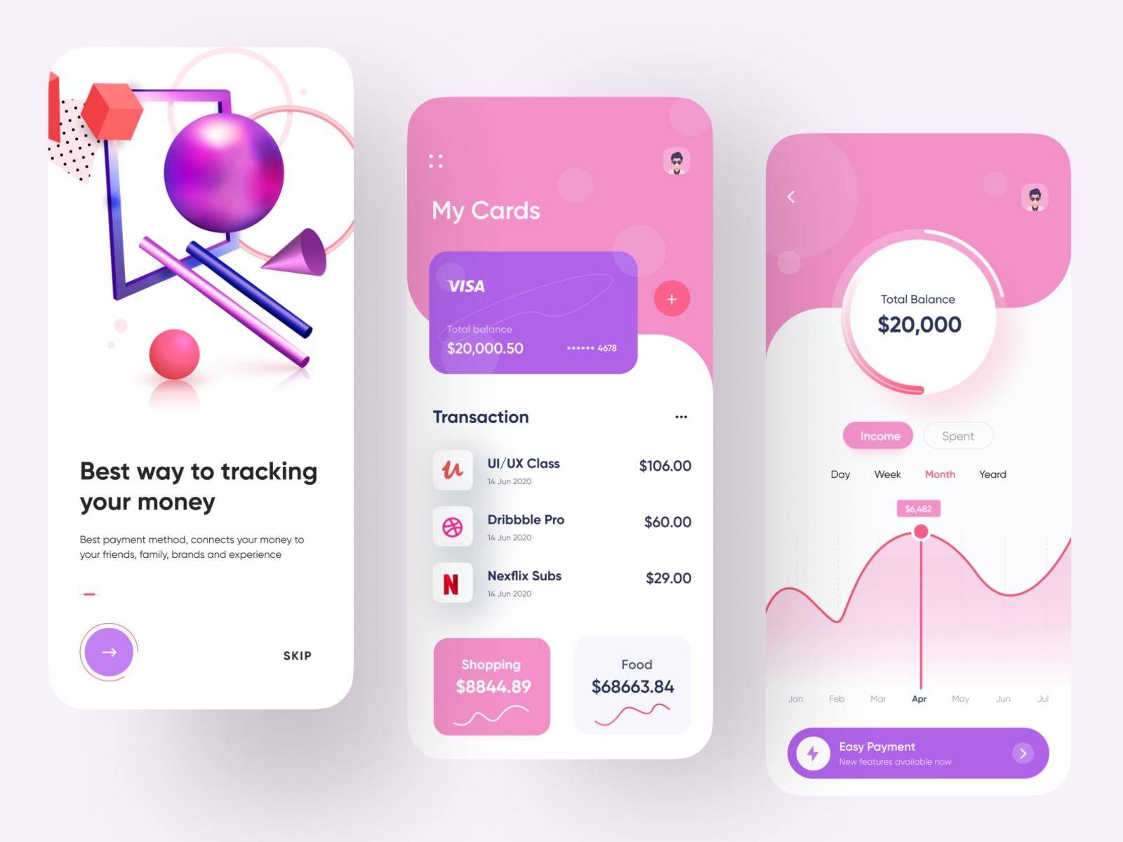 Finance App   Mobile Bank