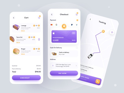 Food app - Foodstar grocery app 3d fast food rakib grocery food ordering food order food delivery service food delivery application food delivery app food delivery food app food and drink ux ui app ui app design minimal ios app design