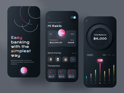 Banking App Design money app wallet ux ui online banking money transfer mobile banking ios app design financial finance app finance wallet app bank app banking app banking app design 2021 trend