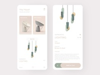 Smart Lamp E-commerce