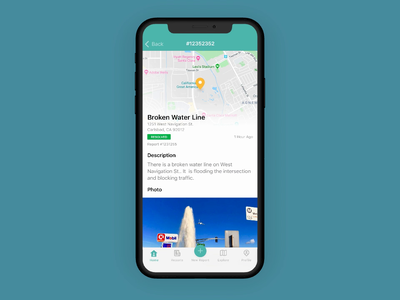NewRocket Citizen Engagement / 311 Mobile App android native app service portal servicenow 311 micro interaction uiux ux ui ios mobile apps design app animation