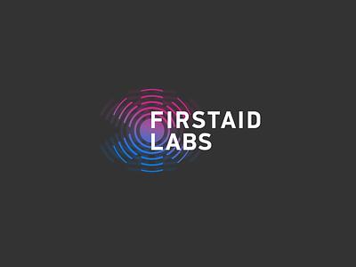 Firstaid labs emergency siren first aid logo