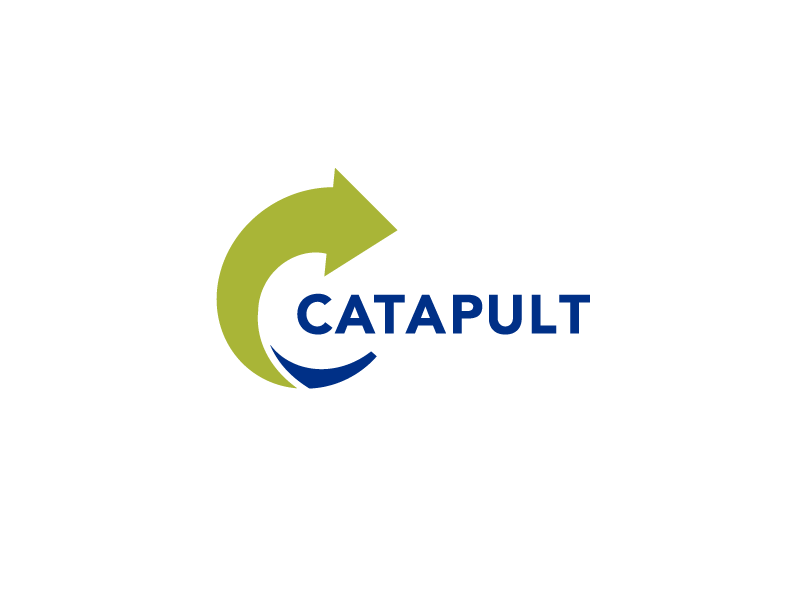 Catapult arrow catapult logo