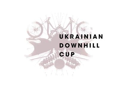 UDC rorschach test logo ukraine downhill bike