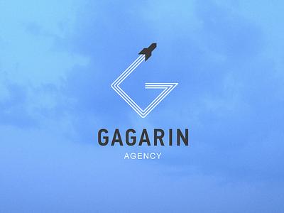 Gagarin trajectory gagarin rocket logo