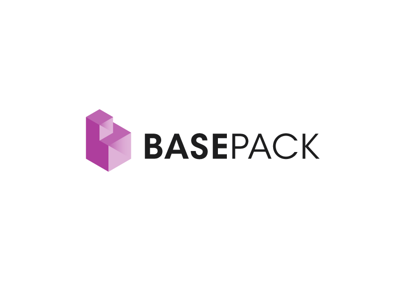 Basepack base boxes packaging logo