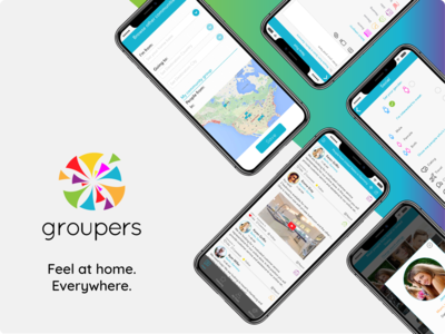 Groupers - Mobile Application