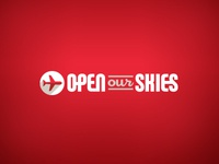 Open Our Skies Promo Site Logo