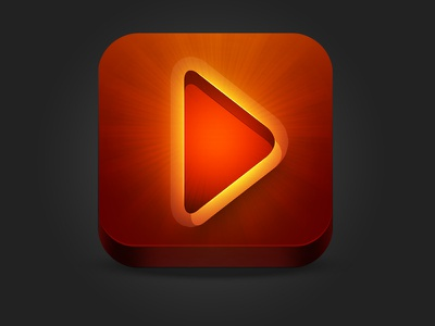 Video+ App app ios icon video iphone ipad play ios6
