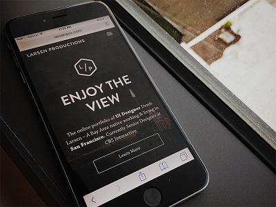 Larsenpro - Responsive bootstrap responsive website portfolio web brand identity mobile ui