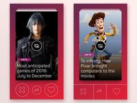 News App Concepts