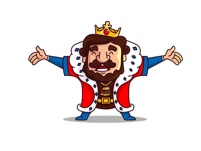 Welcome my people ! branding redeseign burger king burger red cartoon simple face cute namilurihas sticker character mascot