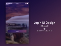 Login UI Design - Free To Download