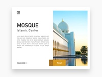 MOSQUE - Landing Page