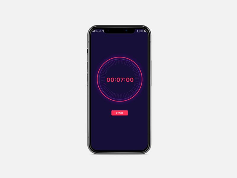 Countdown Timer design ui timer countdown
