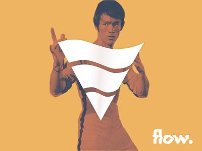 flow. logodesign logo