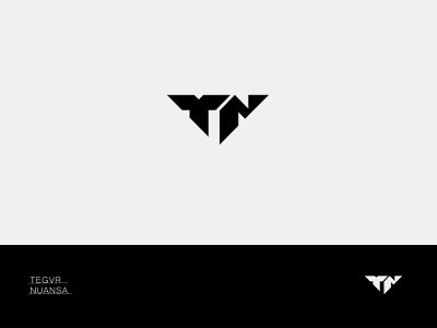 TN - Minimal minimalist minimalist logo typogaphy logodesign logo