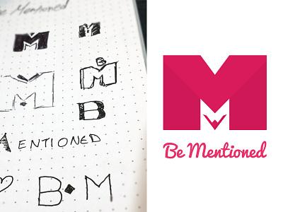 Bm Logo branding logo creation