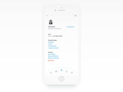 User Profile 006 user profile daily ui dailyui ui app design interface