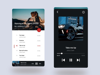 Daily UI 09: Music Player