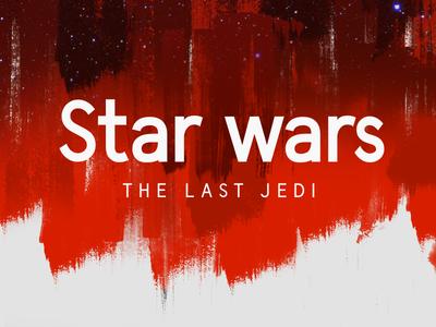 Star Wars by Undeka the last jedi wildtype wildpicks star wars sans serif freebie free typeface type font