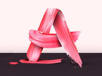 Aloja Free Font paint type typeface handwritten brush free font freebie