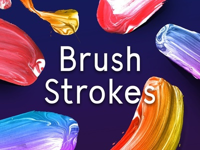 Paint Brush Strokes color smudge paint brush strokes brush strokes strokes paint brush colour