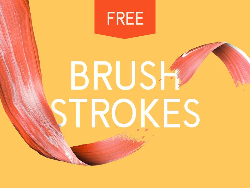 10 Free Brush Strokes splatter smudge painting art acrylic colour paint paint stroke stroke brush free freebie
