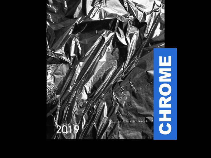 Chrome Foil Poster shiny freebie free poster foil chrome