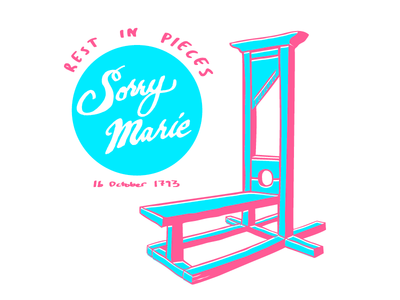 223 years since Marie Antoinette was guillotined