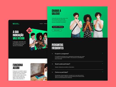 Faculdade Descomplica — Campanhas website ui  ux ui design interface ux ui design