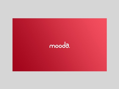 Mooda visual identity branding logotype logo