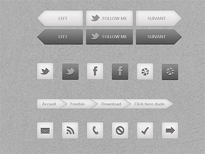 UI elements ui freebie
