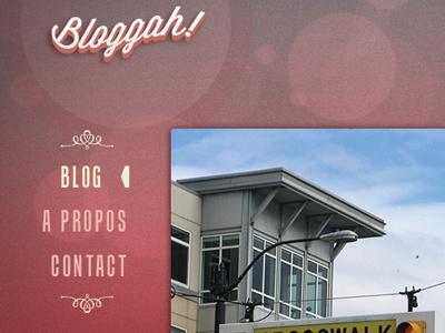 Bloggah! Light Blog Theme in progress  for SPIP cms