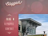 Bloggah! Light Blog Theme in progress  for SPIP cms